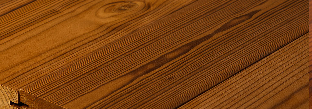 Thermo-treated wood Decking and Cladding
